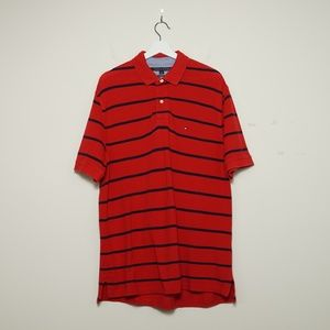 Tommy Hilfiger Men's Classic Fit Striped Polo
